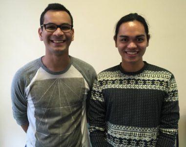 Tham Falahi (left) and Lexi Marapao (right).