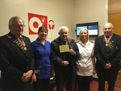 Kind donation to Boston children's clinic | United Lincolnshire