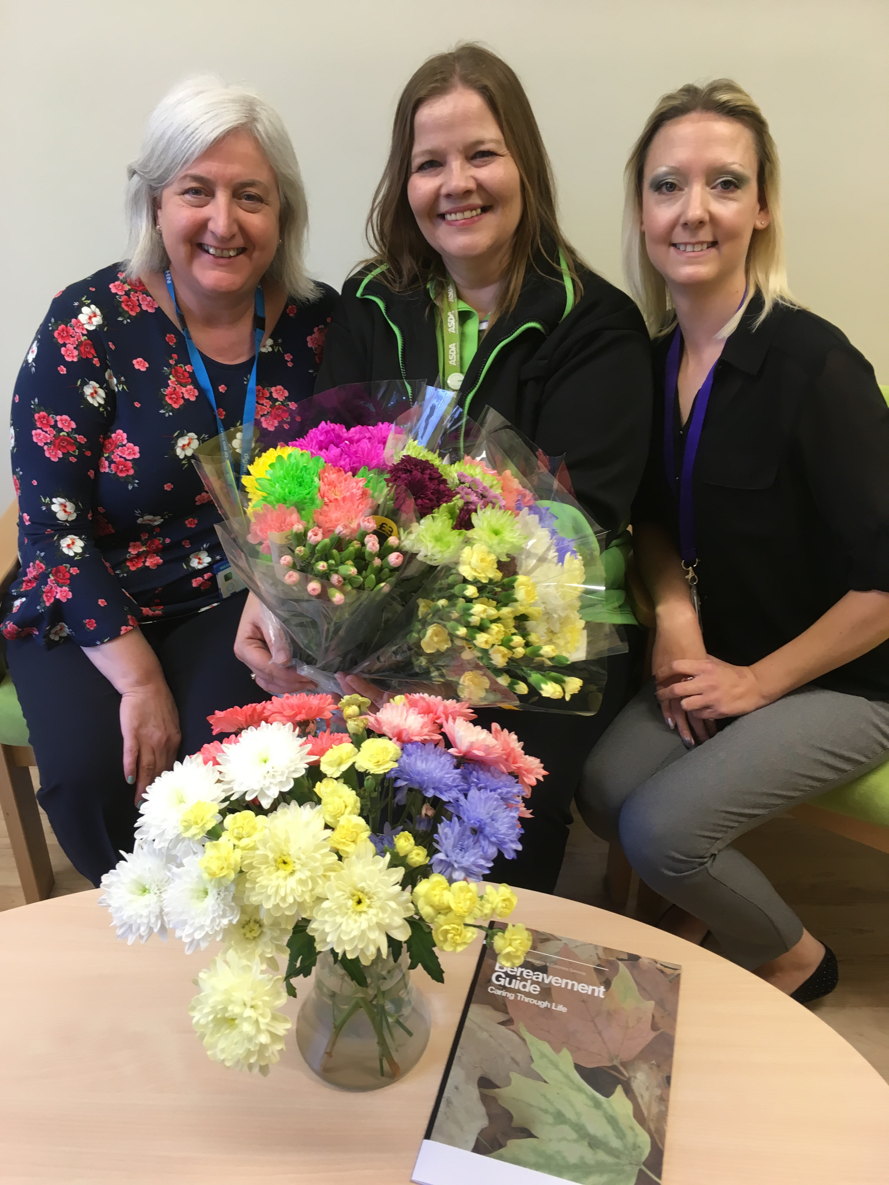 Asda flower donation to bereavement centre | United Lincolnshire ...