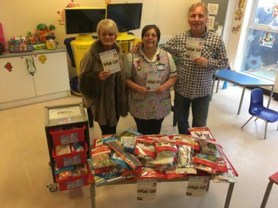 Craft trolley donation