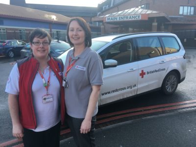 Red Cross discharge team