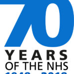 NHS 70th anniversary logo