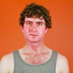 Sunburned Sweaty Man