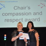 Chair's Compassion and Respect award winner