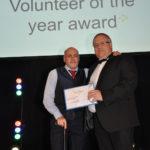 Volunteer of the year award winner