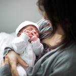 Mum with new baby
