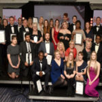 Photo of winners at the Lincolnshire Health Awards