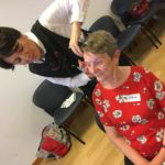 Cancer patients enjoy a pampering session at Lincoln County Hospital
