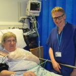 Patient Pete Saumby and Dr David Morgan from the Lincolnshire Heart Centre