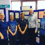 Hand hygiene event staff