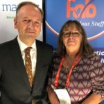 Jennie Negus and Simon Stevens, CEO of the NHS