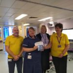 Elaine Huckle gives back to hospitals