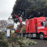 MRI magnet craned into place at County Hospital Louth