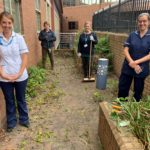Lincoln ICU garden appeal