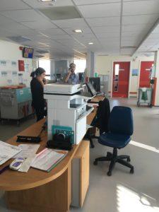 Lincoln neonatal nursing station