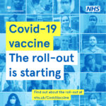 Covid-19 vaccine roll-out poster