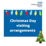 Christmas Day visiting arrangements poster