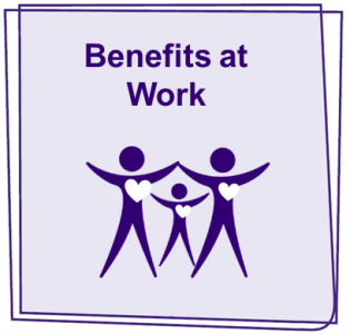 Benefits at work icon