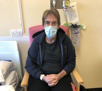Patient Paul Finnelly pre-op